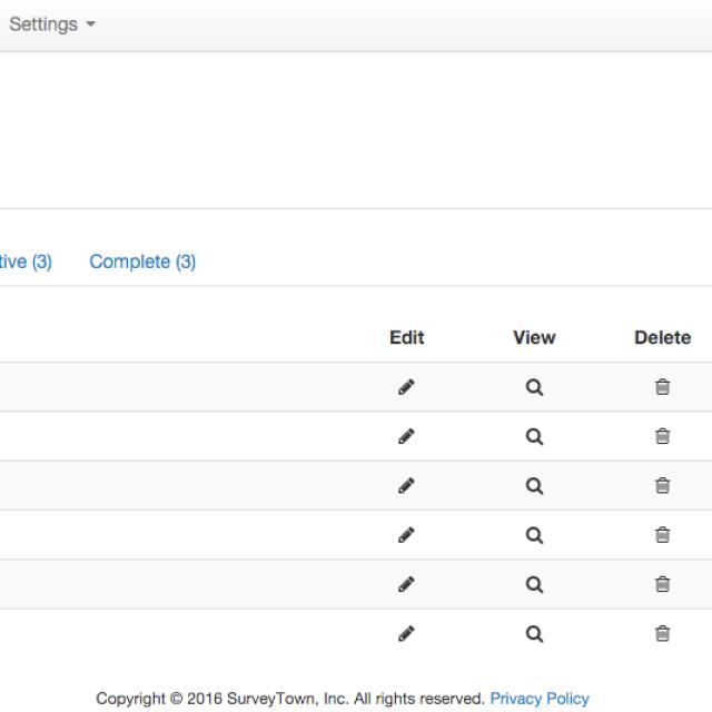 SurveyTown 1.1 Release